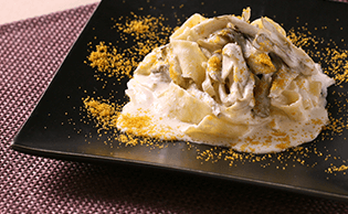 クリーム系パスタのレシピ