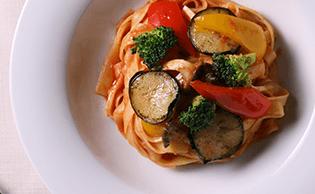 トマト系パスタのレシピ