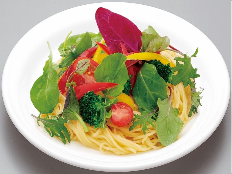 野菜の生サラダスパゲティ